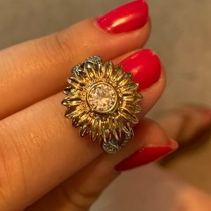🌻 Sunflower Ring Sz7